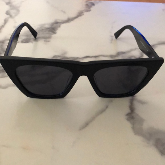 7153ba4bf2b Celine Accessories - Black Celine Edge Sunglasses